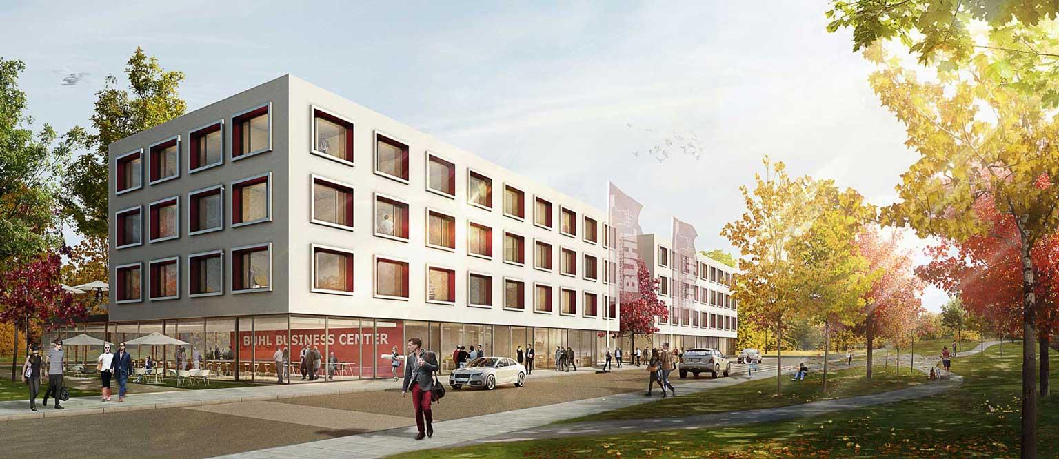 Buhl Business Center Aussen